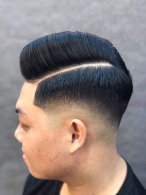 Undercut barbershop vũ trí
