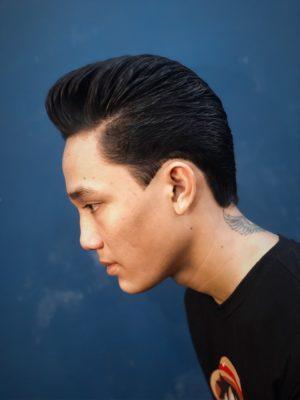 Pompadour barber shop Vu Tri