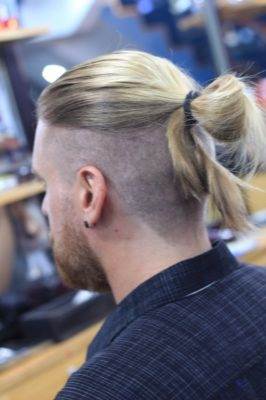manbun vu tri barber shop