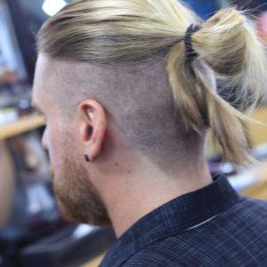 manbun vu tri barber shop